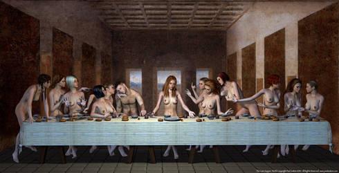 The Lass Supper, Last by PaulSuttonArt
