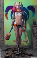 Harley Quinn 'Teenage Bedroom Heroines' Series by PaulSuttonArt