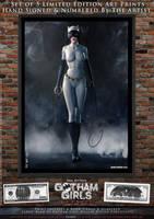 Catwoman, Gotham Girls Comic Series, Classic by PaulSuttonArt