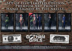 Gotham Girls Comic Series, Evolution Comic Series by PaulSuttonArt