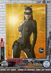 Catwoman (Cat, TDKR) 'Sunset City' Series by PaulSuttonArt