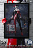 Harley Quinn 'Dark City' Series by PaulSuttonArt