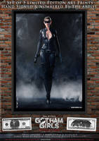 Catwoman, Gotham Girls Comic Series, Evolution by PaulSuttonArt