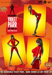 The Incredible Violet Parr... Art Print Set by PaulSuttonArt