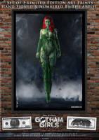 Poison Ivy, Gotham Girls Comic Series, Classic by PaulSuttonArt