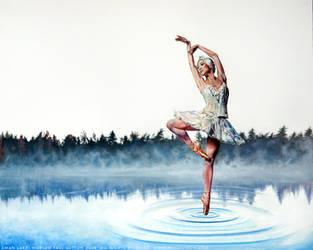 Swan Lake - Odette by PaulSuttonArt