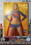 Supergirl 'Sunset City' Series by PaulSuttonArt