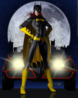 Batgirl, I'm Ready When You Are? by PaulSuttonArt
