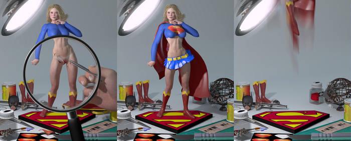 Super Model by PaulSuttonArt