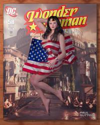 Covergirls - Wonder Woman (Share ver) by PaulSuttonArt