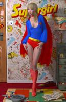 Supergirl 70 'Teenage Bedroom Heroines' Series by PaulSuttonArt