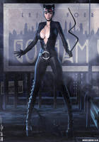 Catwoman 'Dark City' Series (Cosplay) No.3 by PaulSuttonArt