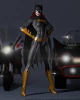 Batgirl SSC by PaulSuttonArt