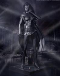 Girl of Steel, Supergirl 'Dark City' Series by PaulSuttonArt