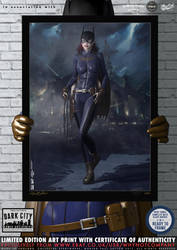 Batgirl Redesign 'Dark City' Series by PaulSuttonArt