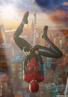 The Spectacular SPIDER-GIRL 'Sunset City' Series 2 by PaulSuttonArt