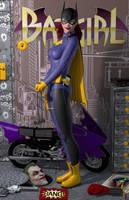 Batgirl of Burnside 'Teenage Bedroom Heroines' by PaulSuttonArt
