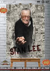 RIP Stan Lee... by PaulSuttonArt