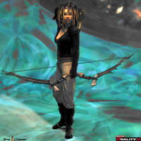 The Huntress by Shango-ThunderStones