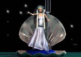 Yemaya, Queen of the Ocean by Shango-ThunderStones