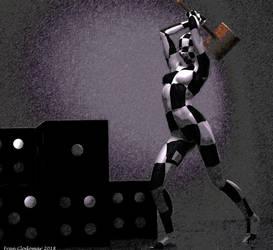 Screaming Checkered by Shango-ThunderStones