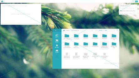 Windows 10 (Neiowa OS) Concept  (W.I.P) by kemoboydesign