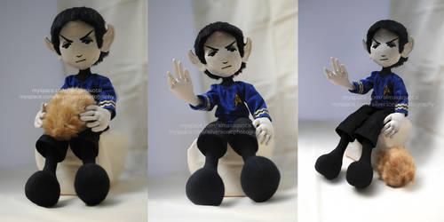 Mr Spock by almaxaquotal