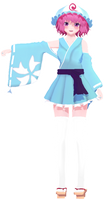 .: Summer outfit Yuyuko - WIP 1 maybe DL ? :. by TsukiChanP