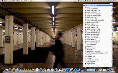 Macbook Pro desktop by tenma-mouko