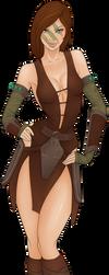 Alela the huntress by GunGoat