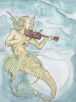 Sonata of Seagoat- wake up moon by hello-heydi