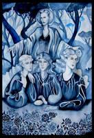 Alphabet of the Goddess - Offspring by hello-heydi