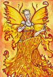 Aine Goddess of midsummer and the sun by hello-heydi