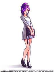 Purple Hair by RoninDude
