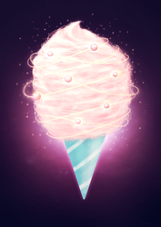 Astronomical Cotton Candy by electrifried