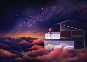 Cosmic Garden by electrifried