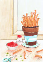Herb Garden: Fries by electrifried