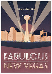 Fabulous New Vegas by electrifried