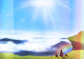 Journey: Mountain Ridge by electrifried