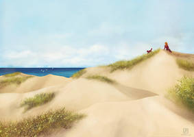 Journey: Lonely Beach by electrifried