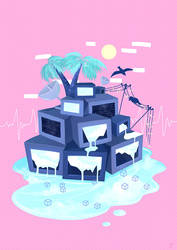 Pixel Island by electrifried