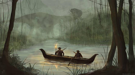 Lost World - Swamp by LJHT