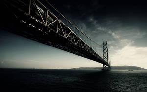 Dark Bridge Wallpaper by KevDog32