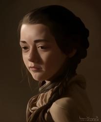 Arya Stark by luxandnox