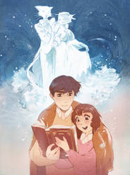 Piece for Ghibli @ the Guild Exhibition by fiorellacogliandro