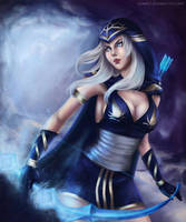 Ashe - the frost Archer by Nindei
