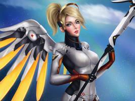 Mercy - Overwatch by Nindei