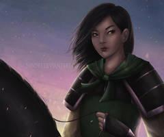 Mulan by Nindei
