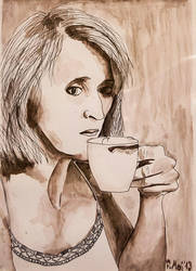 Morning coffee by Mayones