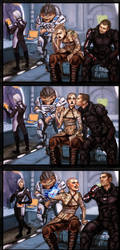 Mass Effect Commision by Jinzali